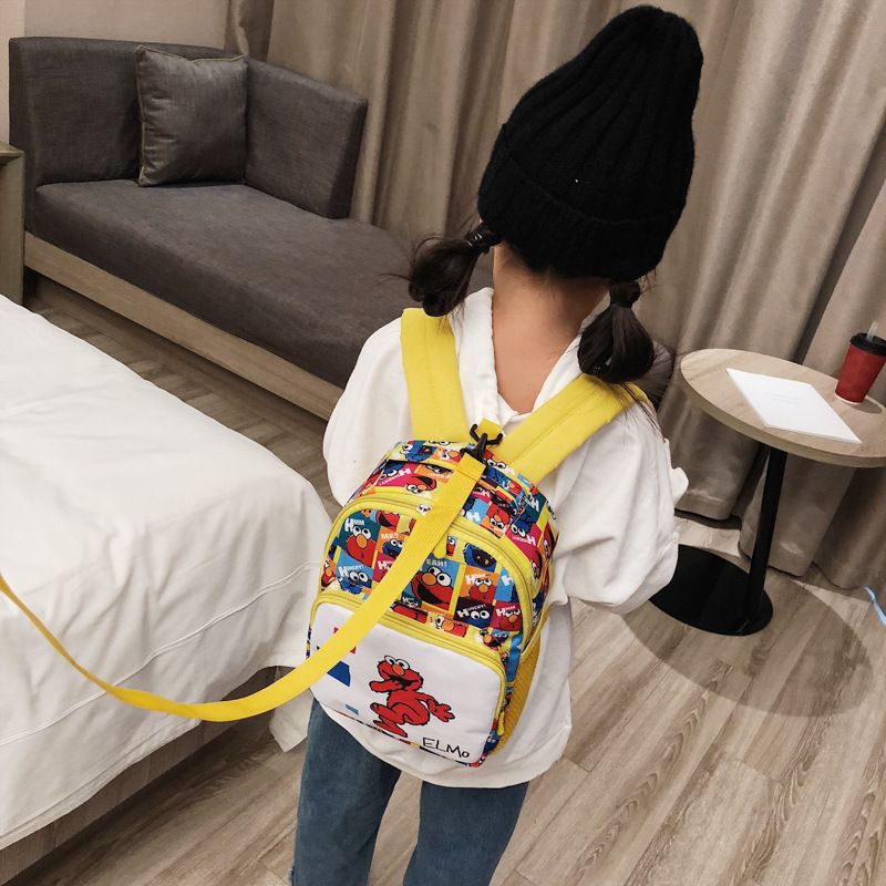 2019 School Season New Style Children Backpack Bag Cartoon Printed