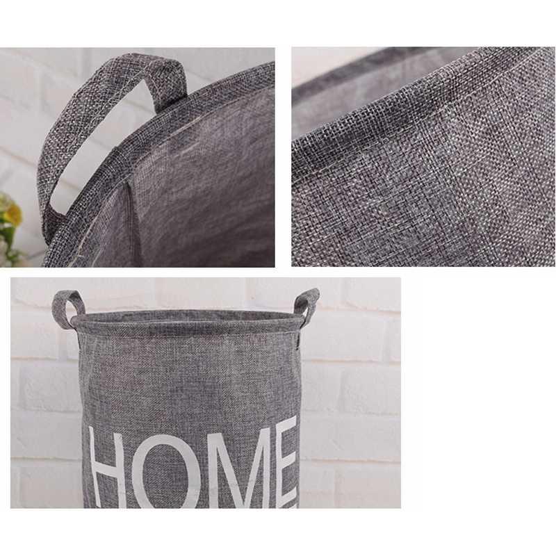 מכירה לוהטת כביסה סל בגדים מלוכלכים אחסון אופנה עמיד למים גדול סל פסולת אחסון תיבת A803 22