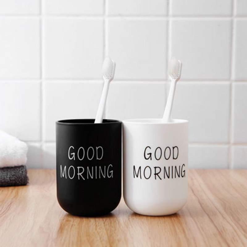 Пластиковая чашка для зубных щеток, для путешествий, для полоскания рта, для рук, легкая и удобная, для кофе, молока, простой в скандинавском