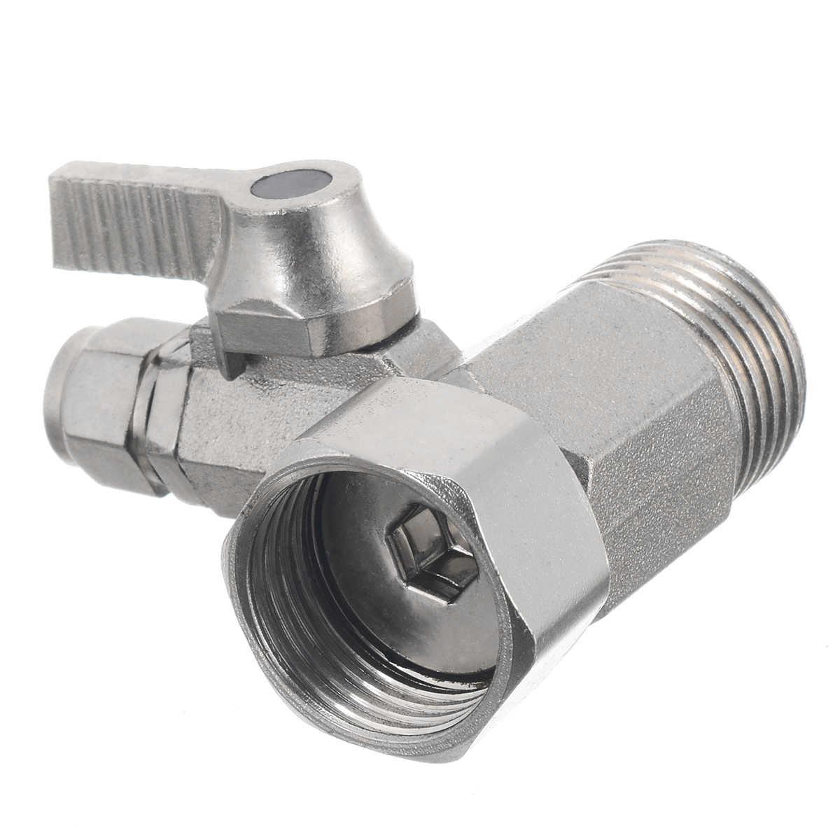 V/álvula de bola adaptador de filtro de agua de 1//2 a 1//4 pulgadas interruptor de /ósmosis inversa