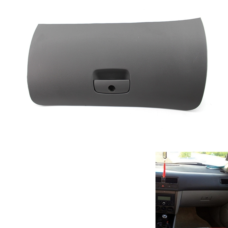 New Car Styling Auto Handle Cover Lid Storage Console Glove Box Door Cover Lid Latch For Passat B5 1998 2005 Glove Boxes     - title=
