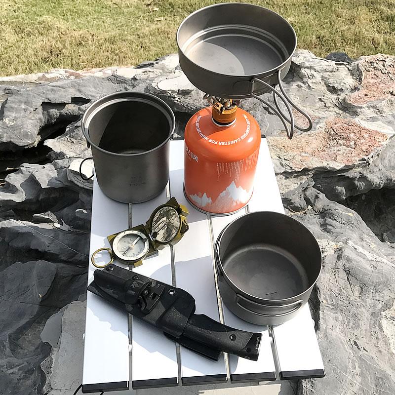 Picnic Folding Aluminium Alloy Table BBQ Hiking Outdoor Table Adjustable Table Park Camping Portable Ultra-light Desk