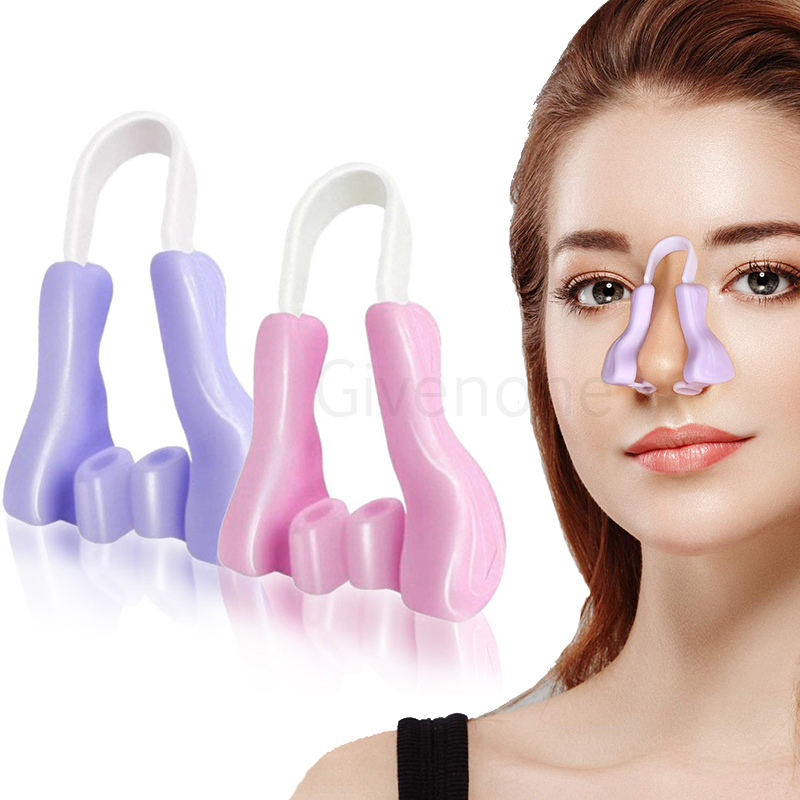 Nose Up Shaping Shaper Soft Silicone Nose Corrector Magic Nose Shaper Clip Beauty Nose Slimming Device Facial Care Beauty Tools