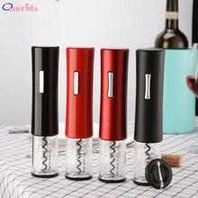 Yeni elektrikli şarap otomatik şişe açacağı taşınabilir ev folyo kesici elektrikli şarap şişesi şişe açacağı mutfak aksesuarları