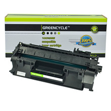 GREENCYCLE 1 Pack CE505X 05X High Yield Toner Cartridge for HP LaserJet P2055 P2055d P2055dn P2055x replacement parts for hp laserjet p2055dn network formatter board at retail