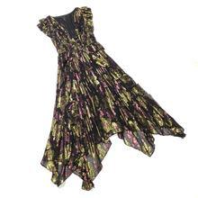 Одежда высшего качества золотые платья для женщин Модный блогер