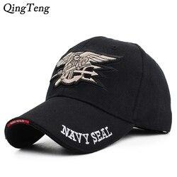 Boné de beisebol masculino da equipe navy, chapéu de algodão estilo navy para homens 2019