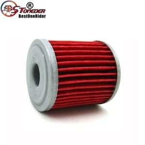Image 4 - STONEDER 5x filtr oleju dla KAWASAKI KX450F KX250F KX250 SUZUKI RMZ450 RMZ250 RMX450Z FL125 SDW BETA EVO 250 300 SPORT 4 suwowy