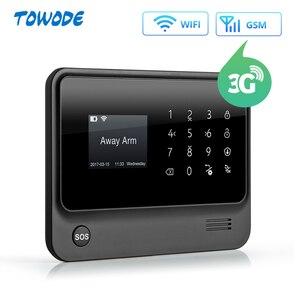 Image 4 - Towode G90B 3G GSM WIFI 100 metros con cable, perímetro, infrarrojos, sistema de barrera de haces duales por IR, sistema de alarma de seguridad para el hogar