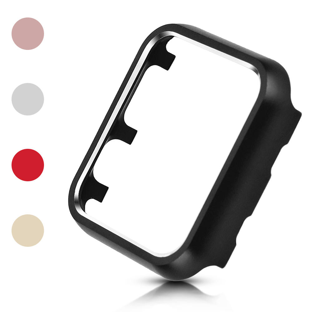 Metal-Case Cover Iwatch-Shell Series 40mm 2-Protector for Apple 44mm 38mm 42mm Hard-Bumper