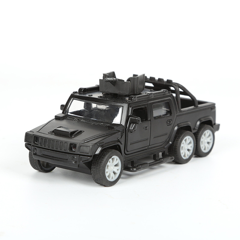 1:32 Military Car Model Pull Back High Quality Vehicle Children Play Toys Diecast Toy For Kids Collection Festival Gift CL5849