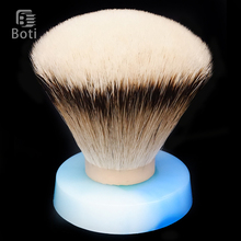 Boti Brush-SHD Silk HMW Silvertip Badger Hair Fan Type Exclusive Beard Shaping Tool Daily Shave Care Tools