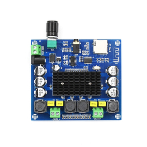 Image 5 - XH A314 12V 24V Bluetooth 5.0 TPA3116 Điện Kỹ Thuật Số Bảng Mạch Khuếch Đại 2X50W Âm Thanh Stereo AMP Mô Đun hỗ Trợ Thẻ TF AUX