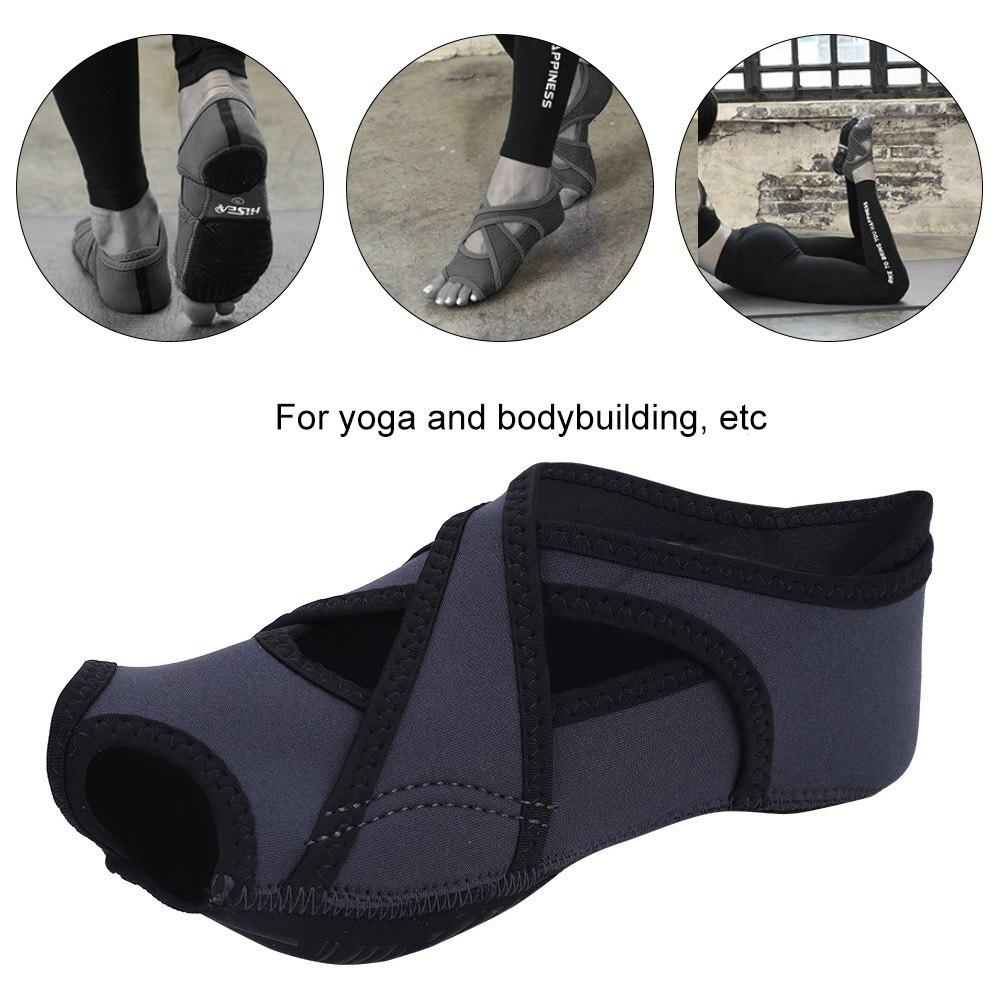 meias crisscross design confortável e respirável meias de yoga