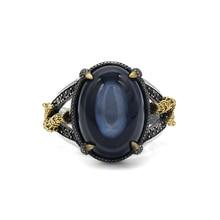 男性リング 925 スターリングシルバー男性リングパラレルゼブラライン黒czパンクスタイルのリングパーティージュエリー七面鳥結婚指輪
