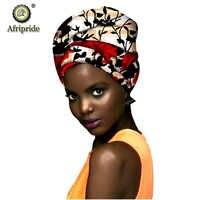 Afrikaanse mode hoofd sjaal print wax katoenen vrouwen afrikaanse kleding Bazin Rijke hoofddeksels A18H001