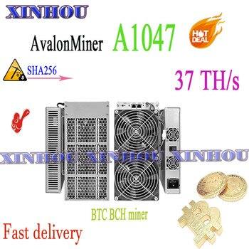 Asic Bitcoin miner Avalon A1047 37T SHA256 BTC BCH miner better than AvalonMiner 1026 AntMiner S17 S9 S17e T17e M20S M21S T3 T2T