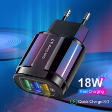 Usb-Charger Xiaomi Tablet QC3.0 iPhone Samsung 18W Olnylo for Us/eu-Qc Wall