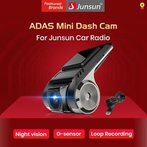 Junsun car camera dashcam ADAS Mini Car DVR Camera HD LDWS Auto Digital Video Recorder Dash Cam for Android Multimedia player