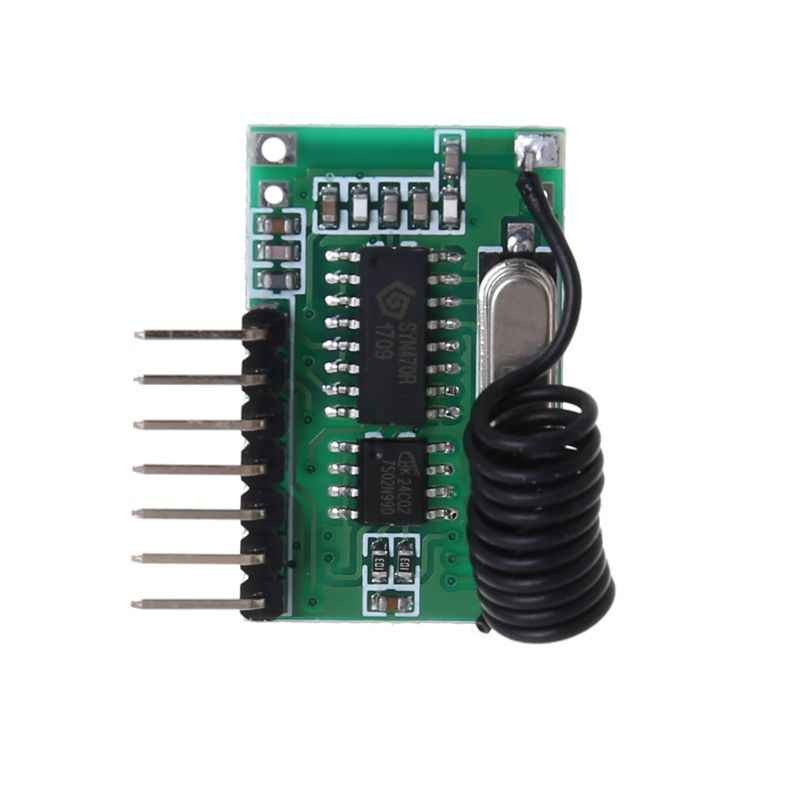 AK-06C kablosuz geniş voltaj kodlama verici çözme alıcı 4 kanal çıkış modülü 315/433Mhz uzaktan kumanda