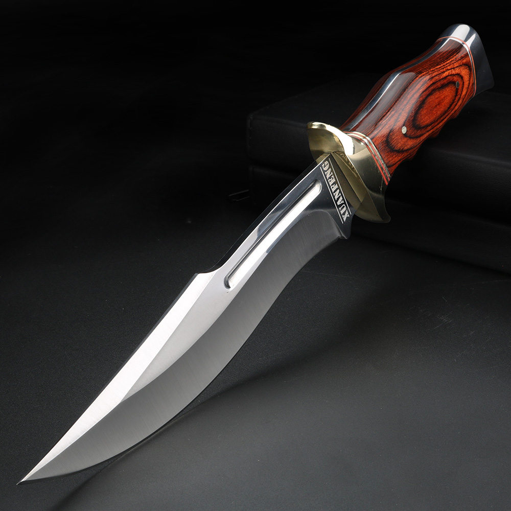 Outdoor Short Knife Fixed Blade Straight Knife High Quality EDC Tool Knife Camping Hunting Self-defense Knife