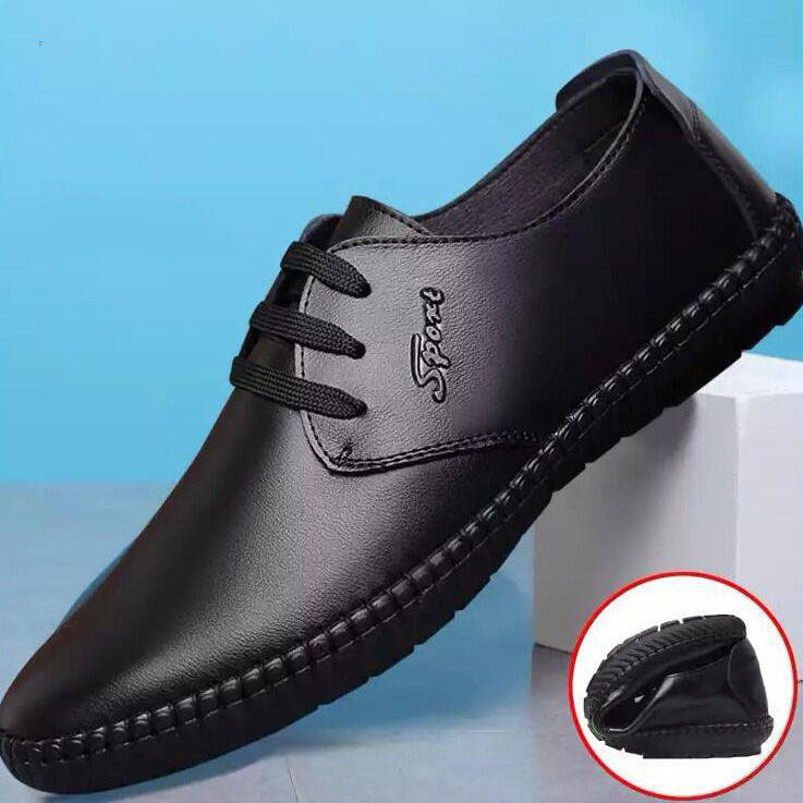 2019 Men Fashion Flats Super Soft Leather Shoes Men's Casual Shoes Male Formal Office Business Oxfords Shoes Loafersmko