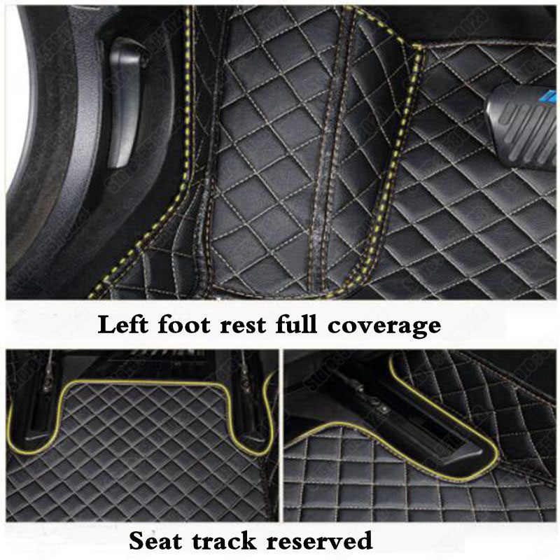 Custom Car Lantai Kaki Tikar untuk Renault Fluence Indah Captur Jimat Espace Logan Koleos Megane Laguna Garis Lintang Kadjar Duster