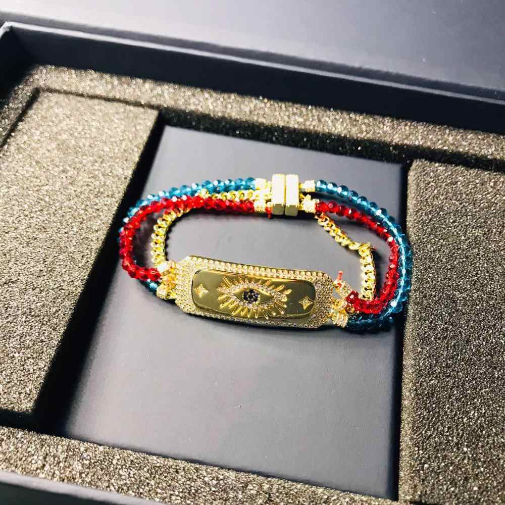 Original 1:1 Lucky Eye Colorful Bracelet