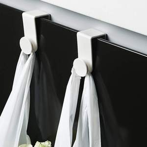 2 шт./лот над дверью шкафа крючки Экономия пространства крючки кухня полотенце пальто Крючки для органайзера стойки