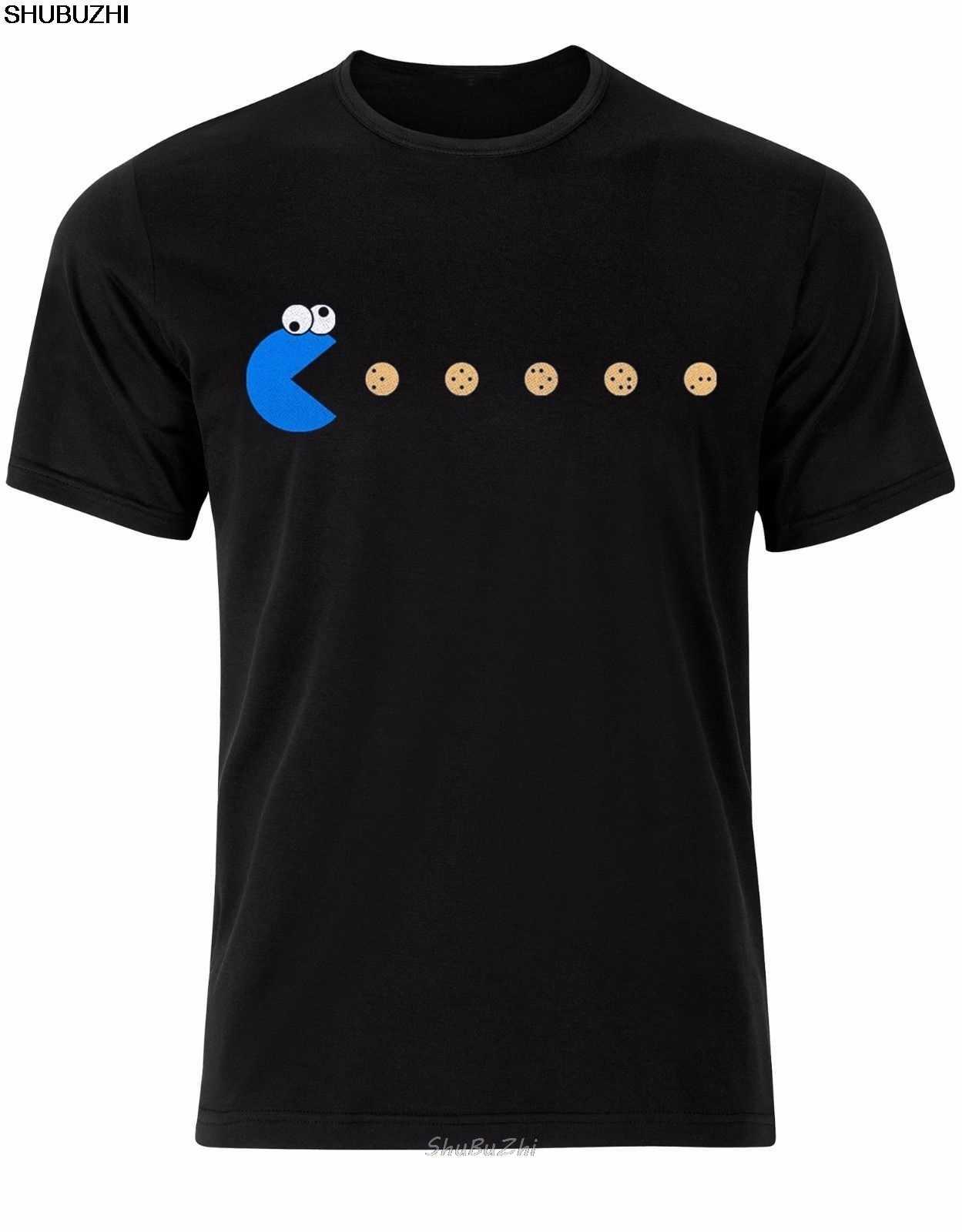 Cookie potwór ulica sezamkowa chcę cookie Om nom mężczyzna Tshirt Top AL77 Cartoon t koszula mężczyzna Unisex nowy shubuzhi sbz3048