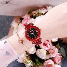 2019 Women Ladies Casual Watch Stainless Mesh Strap Quartz Wristwatches Luxury Brand Women's Crystal Fashion Bracelet Clock Gift