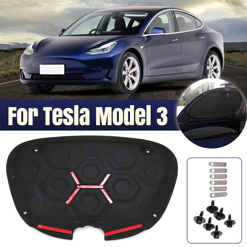 for tesla model 3 front trunk cover sound insulation cotton shock plate hood insulation modification car trunk protective pad sound heat insulation cotton aliexpress us 55 48 33 off for tesla model 3 front trunk cover sound insulation cotton shock plate hood insulation modification car trunk protective pad sound