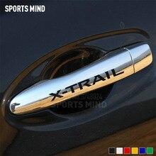 4 x виниловый автомобиль-Стайлинг для Nissan X Trail T32 T31 T30 X-trail Nismo аксессуары JDM автомобильная ручка наклейки автомобили
