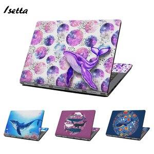 Uniwersalny Laptop skóry Shark zwierząt Notebook naklejka naklejka 13