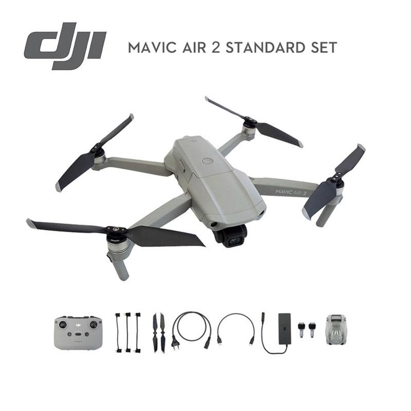 DJI Mavic Air 2 drone with 4k camera 34 mins Flight Time 10km 1080p Video Transmission original Newest in stock|Camera Drones| - AliExpress