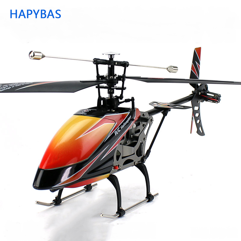 New Arrival Recommend Original Wltoys V912 Large 4CH 2.4ghz Radio System Single Blade RC Helicopter Toy title=