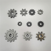 Electric Scooter 8T 9T 11T 13T 25H 410 420 Sprocket For 25H Chain Motor Pinion Gear MY1020 BM1109 MY1016Z MY1018 DC Motor
