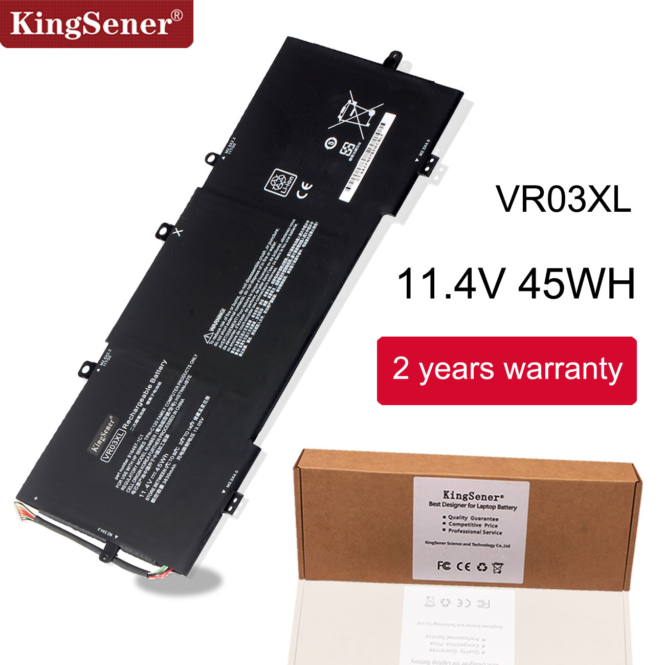 Kingsener VR03XL HSTNN-IB7E Battery For HP Pavilion 13-D Envy 13 13-D 13-d096UR 13-d036NZ 13-D046TU 13-D051TU 13-D006TU TPN-C120