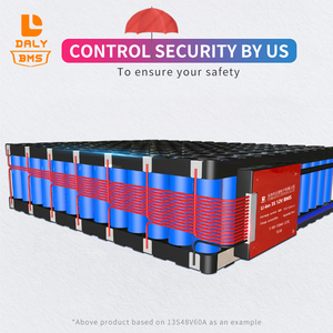 Image 3 - 3.2V 50ah 12S 36V 15A 20A 30A 40A 50A 60A Lifepo4 BMS PCM Battery Protection Board with  Balance Function  NTC for Scooter