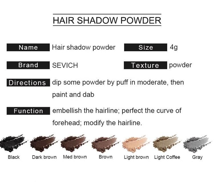 Youth Color Hair Shading Powder