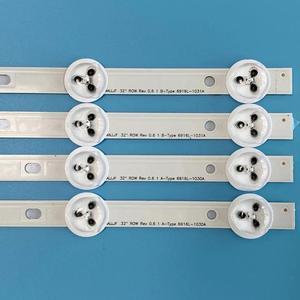Image 4 - 4pcs LED רצועת 9 נוריות עבור LG 32 שורה Rev0.9 A/B סוג 6916L 1030A 6916L 1031A 6916L 0923A 6916L 0881A LC320DXN SE R1 LED32A2000V