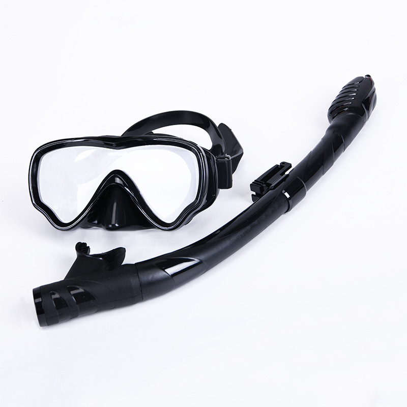 Kids Scuba Diving Mask Tube Set children Snorke Anti-fog Professional Goggles Dry Snorkel Equipmen