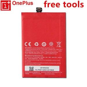 Image 1 - Nouveau BLP597 3300mAh Batteries pour Oneplus 2 une Plus deux batterie téléphone portable + outils cadeaux + autocollants batterie Rechargeable