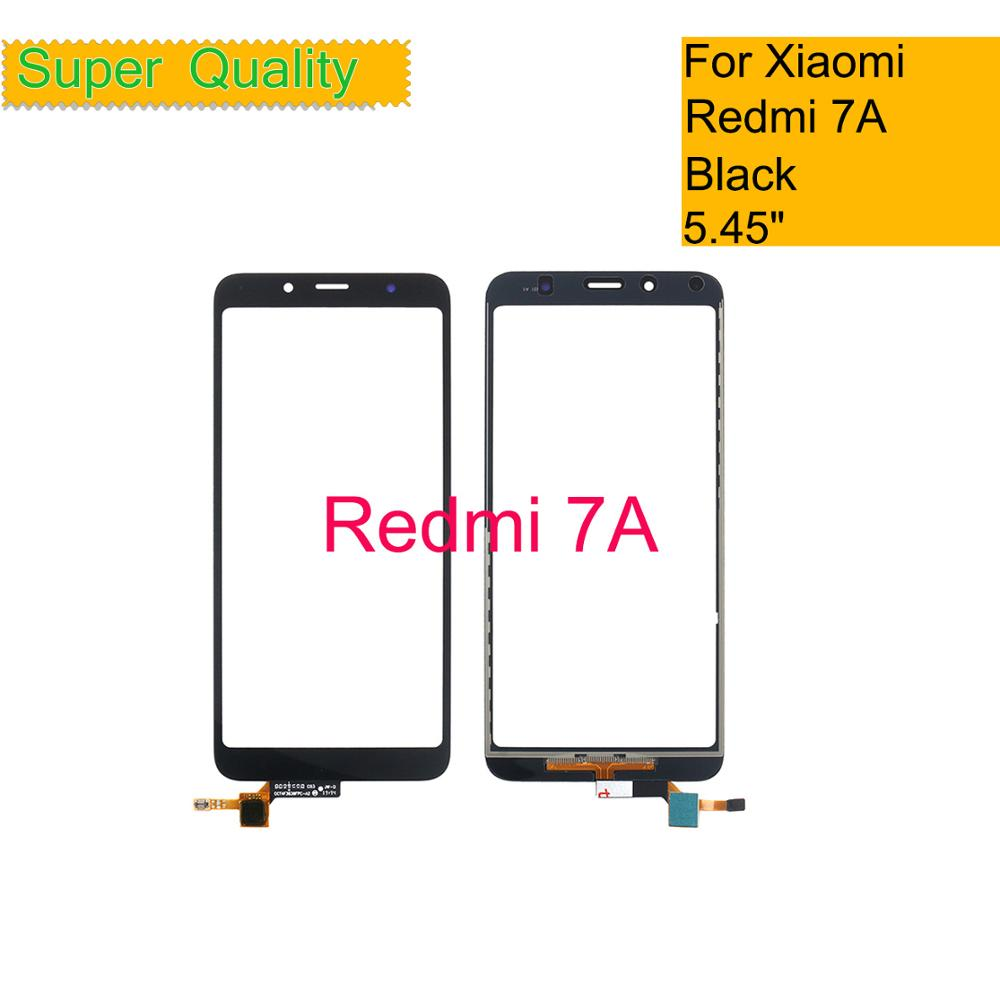 10Pcs/lot For Xiaomi Redmi 7A Touch Screen Digitizer For Redmi 7A Touch Panel Sensor LCD Front Outer Glass Lens Replacement