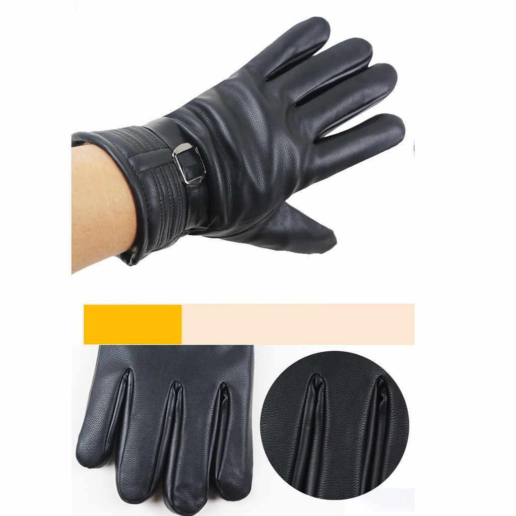 หน้าจอ anti-slip ถุงมือรถจักรยานยนต์ถุงมือรถจักรยานยนต์ถุงมือรถจักรยานยนต์ฤดูหนาวถุงมือ Motos Guantes ป้องกันขับรถขี่จักรยานถุงมือ