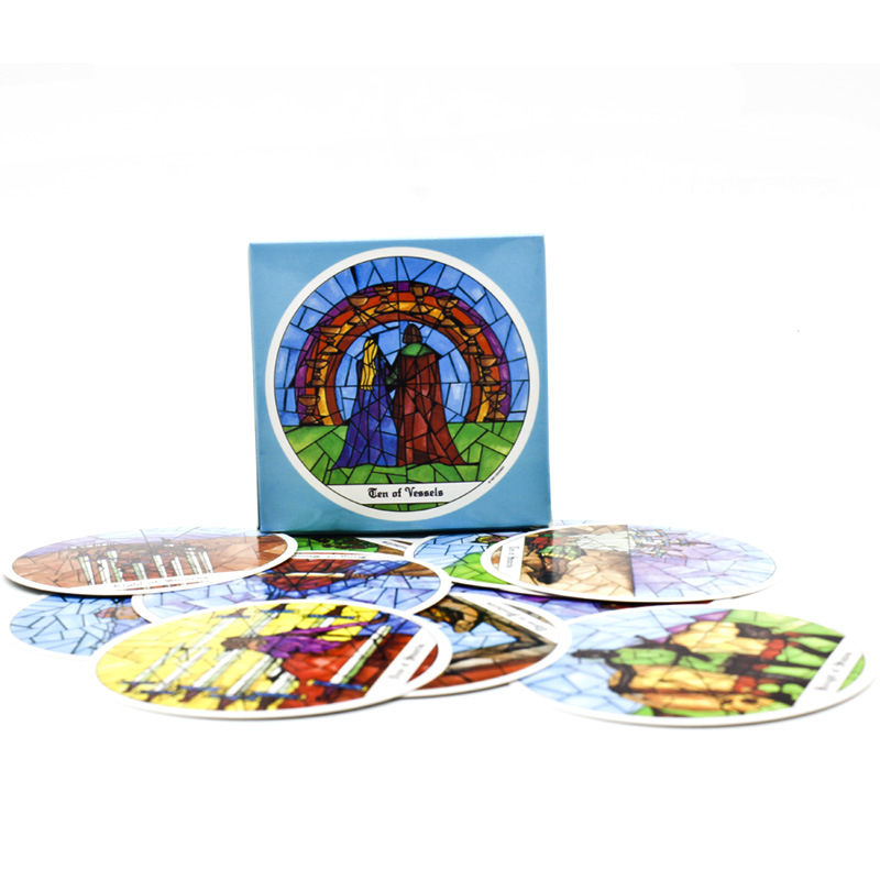 New Card Game Mysterious Cloister Tarot Deck Cards  Spot Tarot Cards Party Family Board Game