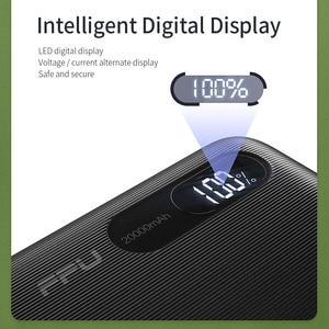 Image 5 - باور بانك FPU بسعة 20000 مللي أمبير في الساعة محمول لشحن الهاتف المحمول باور بانك بسعة 20000 مللي أمبير في الساعة مزود ببطارية خارجية لهاتف شاومي mi
