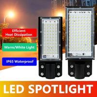 Reflector LED impermeable IP65 para exteriores, lámpara de calle de 50W y 100W, CA de 220V y 240V, proyector de luz para exteriores