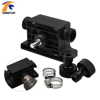 Mini Oil Pump Heavy Duty Self-Priming Hand Water Pump Micro Submersibles Motor Ultra Garden Centrifugal Electric Drill Driven self priming hand electric drill water pump household mini micro heavy duty home garden centrifugal power tool accessories