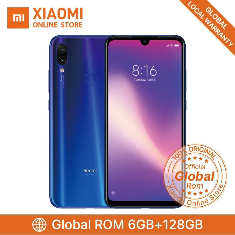 """Original Xiaomi Redmi Note 7 Pro 6GB 128GB Snapdragon 675 Mobile Phone Octa Core 4000mAh 6.3"""" 2340*1080 48MP+5MP Cellphone"""